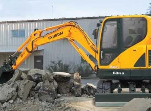 6T Excavator Hyundai R60CR-9