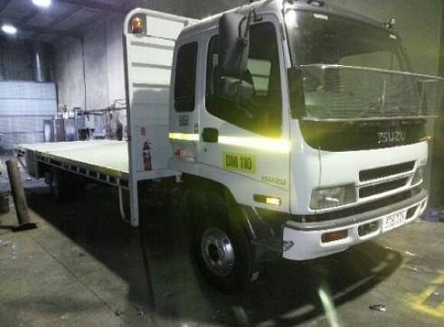 6T Isuzu Flat Deck Truck 1