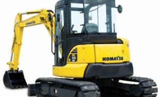 6T Komatsu PC55MR-3 Excavator 1