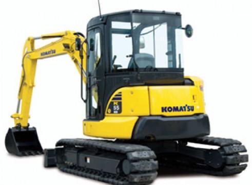 6T Komatsu PC55MR-3 Excavator