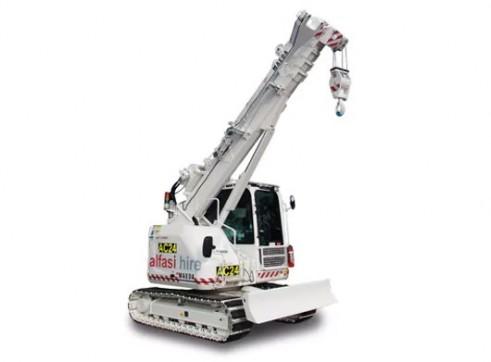 6T Maeda LC1385M Mini Crawler Crane