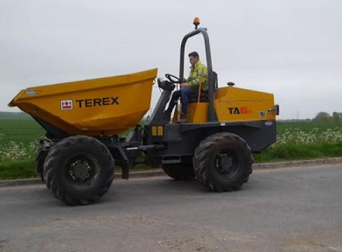 6T Terex TA6S Swivel Site Dumper 2