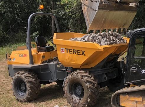 6T Terex TA6S Swivel Site Dumper 4