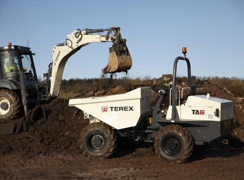 6T Terex Site Dumpers 2