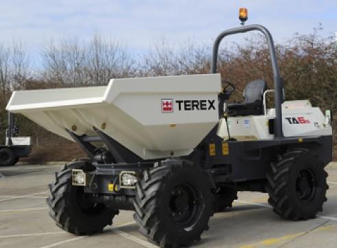 6T Terex Site Dumpers