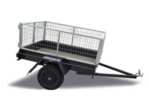 6X4 CAGED TRAILER 1