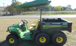 6x4 John Deere UTV w/500L - diesel, water, spray rig & fire fighting 1