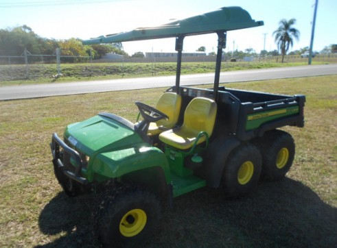 6x4 John Deere UTV w/500L - diesel, water, spray rig & fire fighting 2
