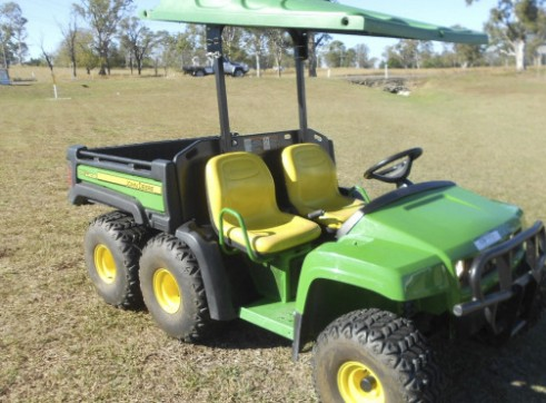 6x4 John Deere UTV w/500L - diesel, water, spray rig & fire fighting 3