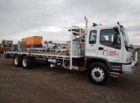 6x4 Single Cab Flatbed 1