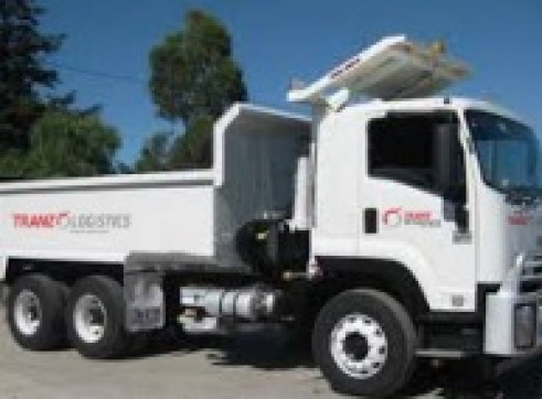 6x4 Single Cab Tipper