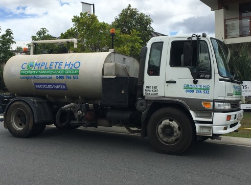7,500Ltr Water Truck Hino Ranger FG Series 2