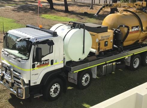 7 x 8,500L Vacuum Excavation Trucks 1