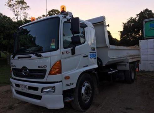 7.5T Tipper Truck