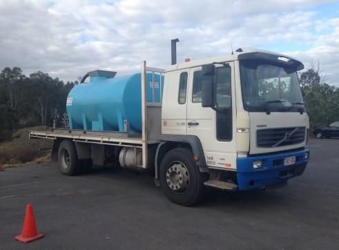7000L Water truck 1