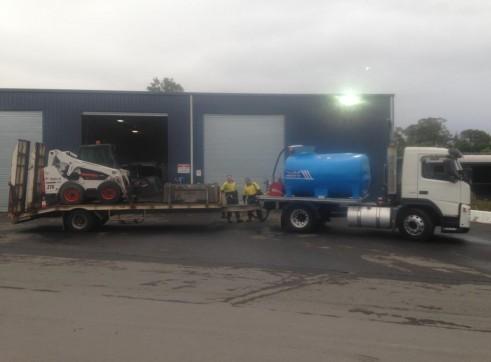 7000L Water truck 2