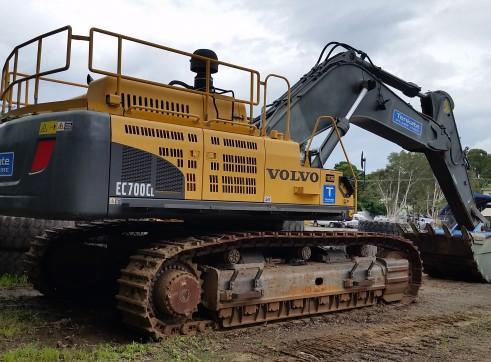 70T Hydraulic Excavator - Volvo EC700