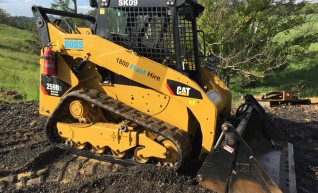 72HP Caterpillar Tracked Loader 1