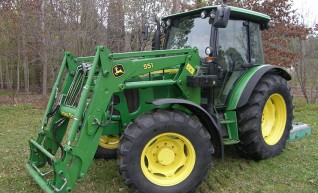 72HP John Deere 5620 Tractor & Loader  1
