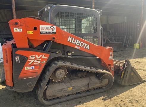 75HP Kubota SVL75 Posi-Track