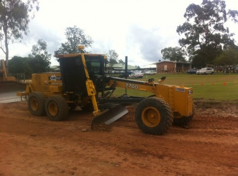 770D john deere grader Trimble GPS/UTS 2500 hours full mine spec 1