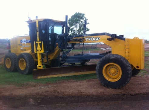 770GP john deere grader Trimble GPS/UTS 1500 hours full mine spec 1