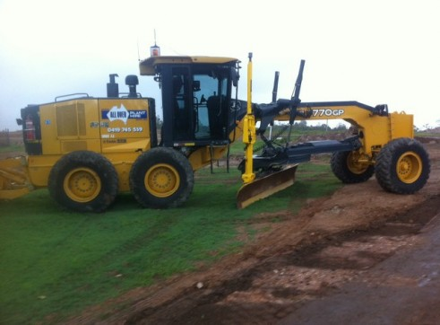770GP john deere grader Trimble GPS/UTS 1500 hours full mine spec 2
