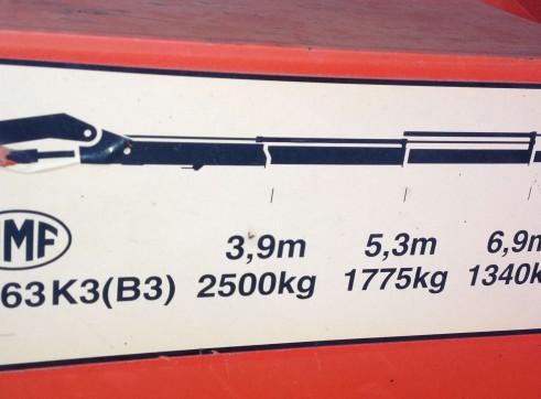 7T Front Mount Crane Truck w/9m tray 3