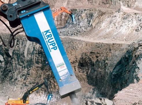 7T HB 7000 Krupp Rock Breaker 1