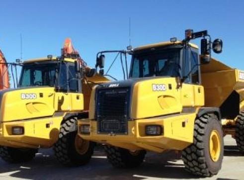 7x 30T Articulated Dump Trucks