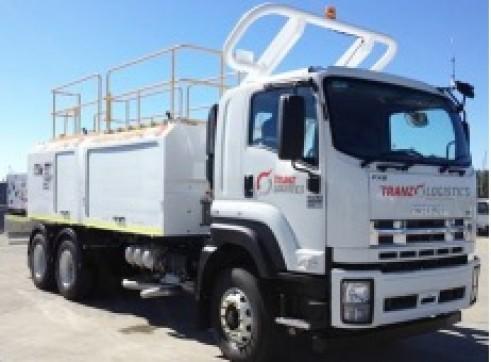 8,500L 6x4 Single Cab Service Truck
