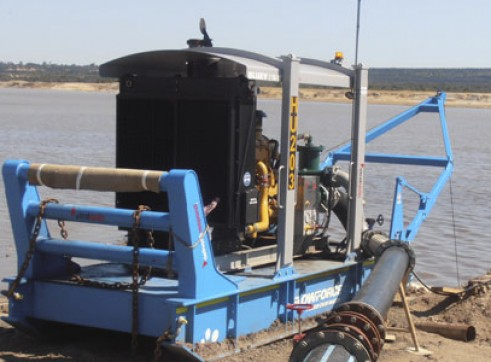 8 Inch Skid Mounted Pump Set 1