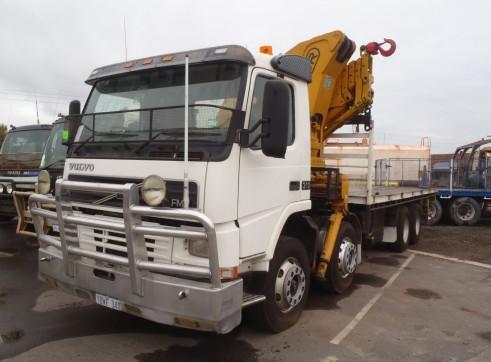 8 x 4 Crane Truck - 4T @ 12 mtrs 1