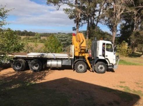 8 x 4 Crane Truck - 4T @ 12 mtrs 2