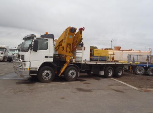 8 x 4 Crane Truck - 4T @ 12 mtrs 3