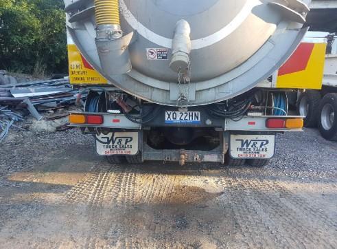 8000L Vacuum Excavation Truck 8
