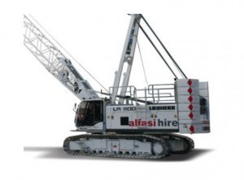 80T Manitowoc 8500 Crawler Crane 1