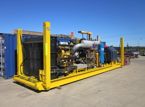 850gpm SKID MOUNTED JACKUP MUD PUMP- Perth 1