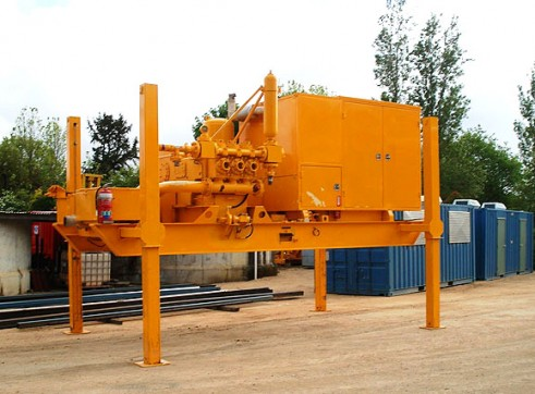 850gpm SKID MOUNTED JACKUP MUD PUMP 1