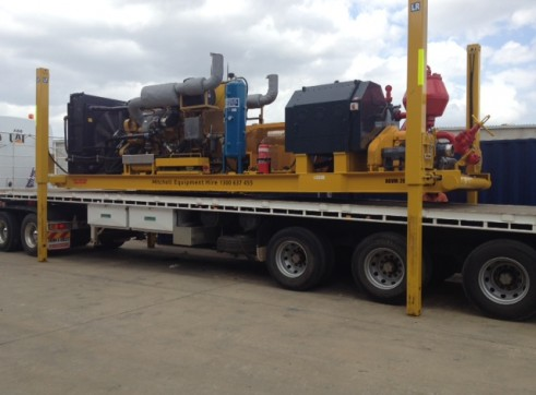 850gpm SKID MOUNTED JACKUP MUD PUMP-Singleton NSW 2