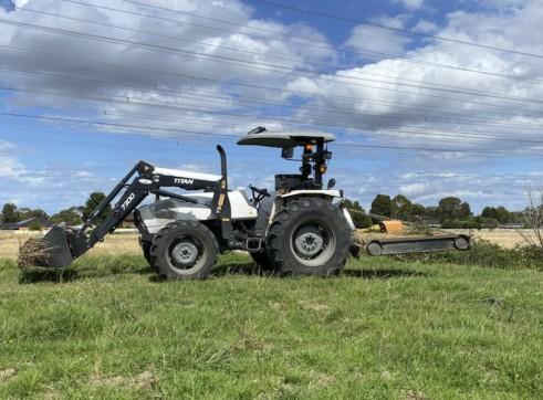 2020 85HP 4x4 Lamborghini Tractor 1