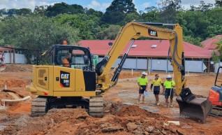 8T Caterpillar 308CR Excavator 1