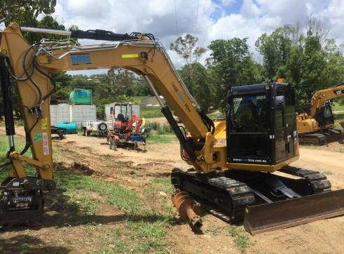 8T Caterpillar Excavator 3
