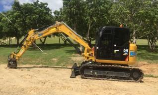 8T Caterpillar Excavator 1