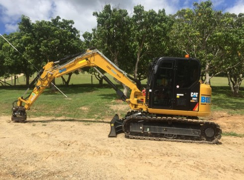 8T Caterpillar Excavator