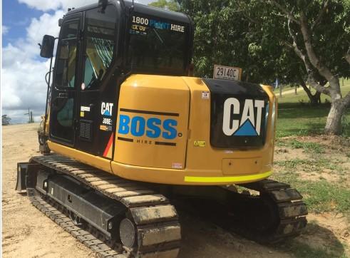 8T Caterpillar Excavator 2