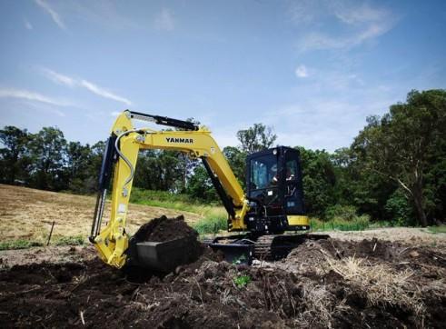 8T Excavator 1