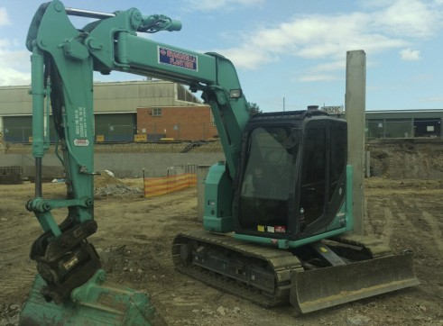 8T Excavator and Bobcat Combo 1