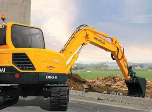 8T Excavator Hyundai R80CR-9 3