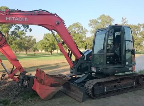 8T Hitachi Excavator